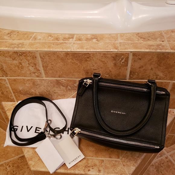 b08949a47b Givenchy Handbags - Givenchy Sugar Black Small Pandora Handbag